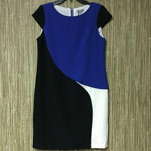 Hayden Women's Cap Sleeve Knee Length Dress Sz 10